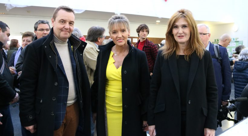 Several members of the EU-Catalonia dialogue platform visited the polling stations in Barcelona during the 21D Catalan election